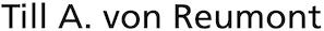 Till A. von Reumont Logo